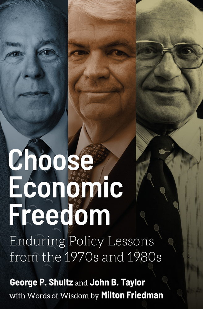 [PDF] [EPUB] Choose Economic Freedom: Enduring Policy Lessons from the 1970s and 1980s Download by George P. Shultz