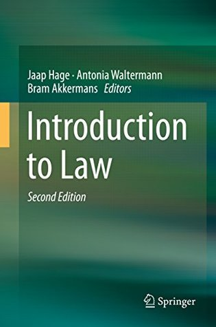 [PDF] [EPUB] Introduction to Law Download by Jaap Hage