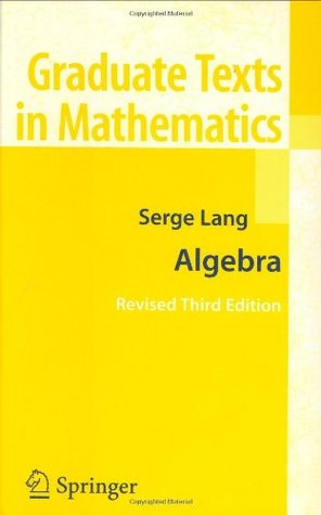 [PDF] Algebra Download by Serge Lang