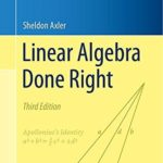 [PDF] Linear Algebra Done Right Download