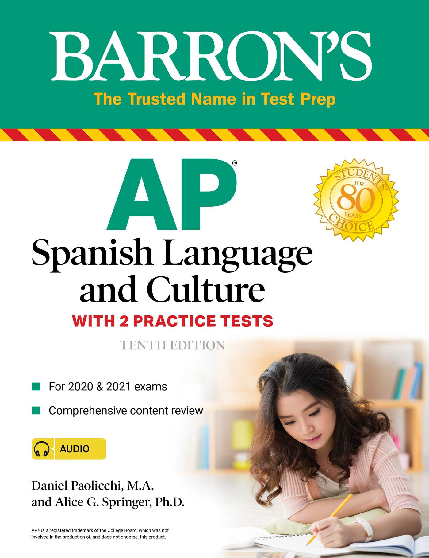 [PDF] [EPUB] AP Spanish Language and Culture: With 2 Practice Tests Download by Daniel Paolicchi