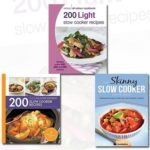 [PDF] [EPUB] Slow Cooker Recipes Collection 3 Books Bundle (200 Light Slow Cooker Recipes: Hamlyn All Colour Cookbook, The Skinny Slow Cooker Recipe Book: Delicious Recipes Under 300, 400 And 500 Calories, 200 Slow Cooker Recipes: Hamlyn All Colour Cookbook) Download