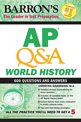 [PDF] [EPUB] AP QandA World History: With 600 Questions and Answers (Barron's AP) Download by Christina Giangrandi