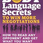 [PDF] [EPUB] Body Language Secrets to Win More Negotiations Download