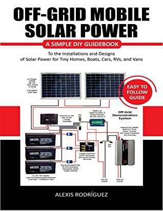 [PDF] [EPUB] OFF-GRID MOBILE SOLAR POWER EASY TO FOLLOW GUIDE: A Simple DIY Guidebook to the Installations and Designs of Solar Power for Tiny Homes, Boats, Cars, RVs, and Vans Download by Alexis Rodriguez