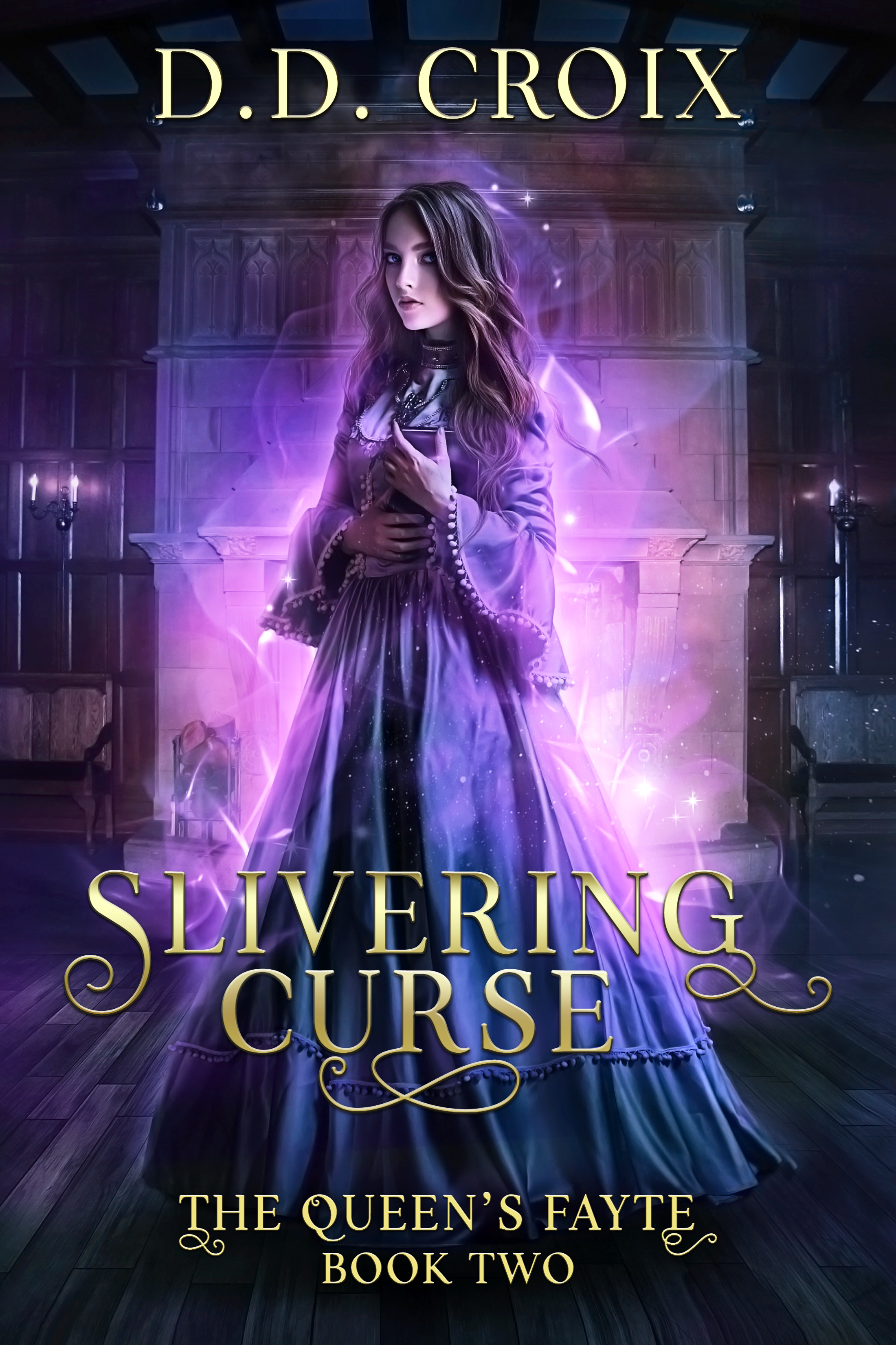 [PDF] [EPUB] Slivering Curse (The Queen's Fayte, #2) Download by D.D. Croix