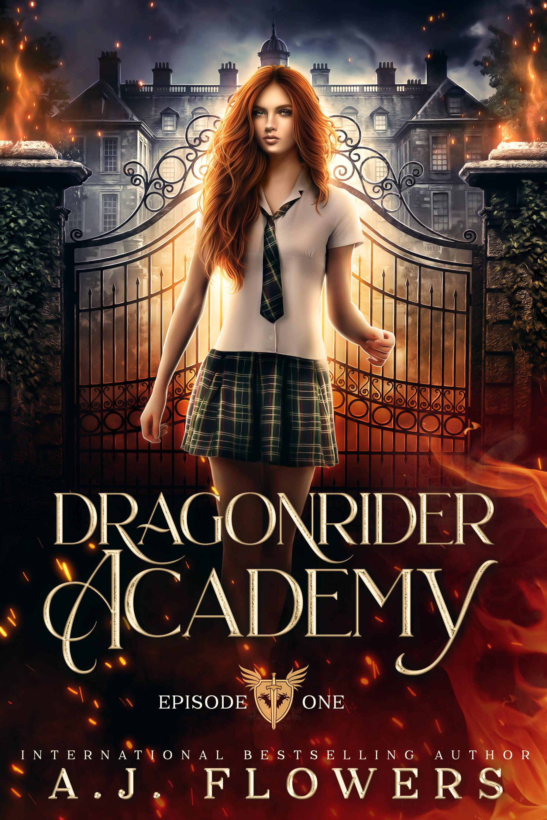 [PDF] [EPUB] Dragonrider Academy (Episode 1) Download by A.J. Flowers