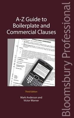 [PDF] [EPUB] A-Z Guide to Boilerplate and Commercial Clauses Download by Mark    Anderson