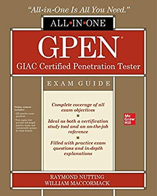 [PDF] [EPUB] GPEN GIAC Certified Penetration Tester All-in-One Exam Guide Download by Raymond Nutting
