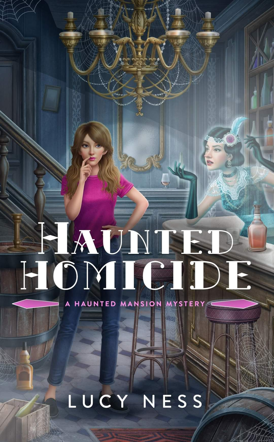 [PDF] [EPUB] Haunted Homicide (A Haunted Mansion Mystery #1) Download by Lucy Ness