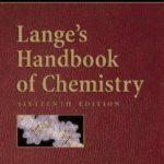 [PDF] [EPUB] Lange's Handbook of Chemistry Download