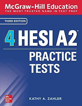 [PDF] [EPUB] McGraw-Hill Education 4 HESI A2 Practice Tests, Third Edition Download by Kathy A. Zahler