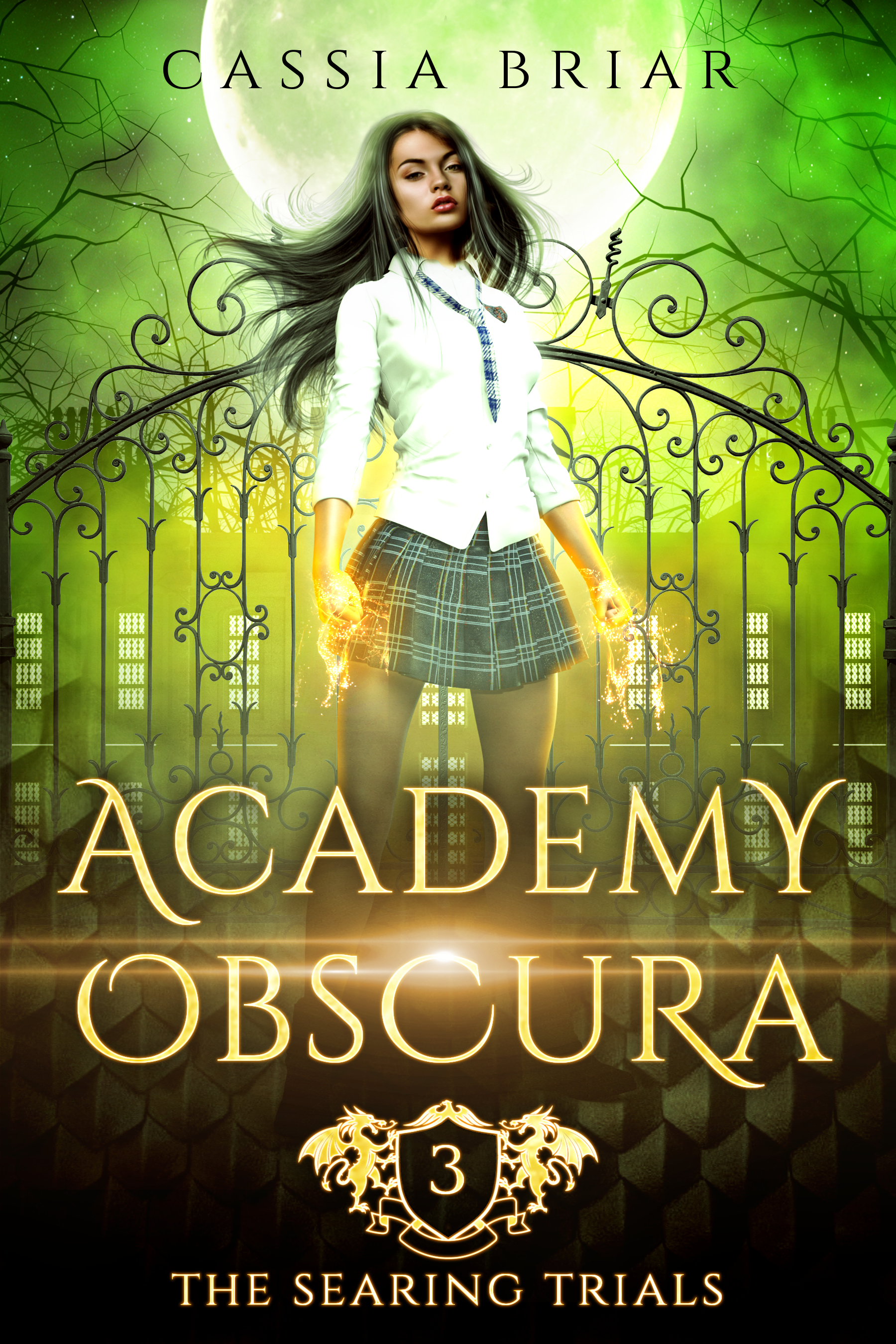 [PDF] [EPUB] Academy Obscura: The Searing Trials Download by Cassia Briar