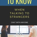 [PDF] [EPUB] 50 Things to Know When Talking to Strangers: Chat with Anyone Download