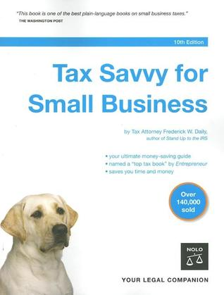 [PDF] [EPUB] Tax Savvy for Small Business Download by Frederick W. Daily